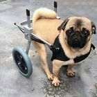 Handicapped Pet Dog Wheel Cart Hind Leg Wheelchair Scoote...