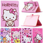 For iPad mini 1 2 3 Cartoon Kitty Bear Case Stand Leather Case Cover