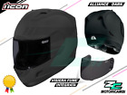 CASCO MOTO INTEGRALE OPACO NERO ICON ALLIANCE DARK MATT XS S M L XL XXL XXXL