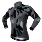 Winter Long Sleeve Cycling Motorcycle Top Jersey Breathable Quick Dry Elastic