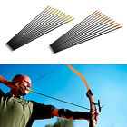 12x Fiberglass arrows 28 30 32 inch Arrow Archery Glass fiber Fibre glass arrows