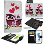 For Vodafone Smart Phones Premium Leather Universal Wallet Flip Book Case Cover