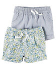 Carters 6 9 Months 2-pk Shorts Set Baby Girl Clothes Summer