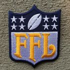 TEAM COLORS Fantasy Football FFL Patch for Jersey Trophy Champion Shirt Award