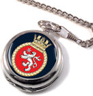 HMS Enterprise Full Hunter Pocket Watch