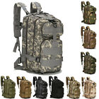 Men Outdoor Molle Backpack Military Tactical Rucksack Assault Camping Hiking Bag