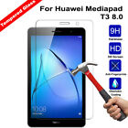 9H Genuine Tempered Glass LCD Screen Protector Film For Huawei Mediapad Tablet