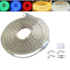 1M~20M 5050 60leds/m LED Flexible Tape Outdoor Xmas Rope Strip Light 110V/220V