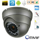 720P 1080P Network 48V POE Dome Camera CMOS Outdoor ONVIF IP camera h 264  xmeye