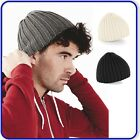Good Quality Beechfield Chunky Beanie Mens Womens Warm Knitted Ribbed Soft Hat