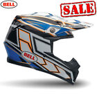 Bell Moto 9 Carbon Tagger Blue Motocross, Mx, Enduro, Offroad Helmet  Sale On