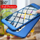 For Huawei GR5 2017 360° Full Cover Armor Hybrid Case+Tempered Glass Protector