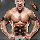 EMS Remote Control Abdominal Muscle Trainer Smart ABS Stimulator Training Gear