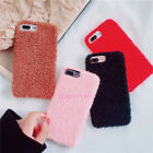 Winter Warm Fashion Fuzzy Teddy Plush Soft Case Cover For iPhone X 7 6S 8 Plus