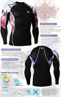 FIXGEAR C2L Skin-tight Compression shirt under gym training fitness J