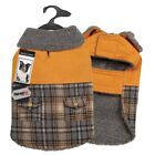 PLAID DUCK COAT Thermapet Soft Berber Puppy Dog Jacket Durable Winter Warm Coats
