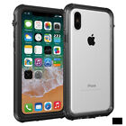 TPU Skin Soft Thick Crystal Clear Gel Rubber Back Case Cover For iPhone X
