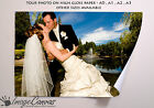 YOUR PERSONALISED PHOTO/POSTER GLOSS PAPER A0 A1 A2 A3