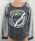 Women's Emory University Eagles Long Sleeve Shirt S M Blue LS Top NEW LA Edge