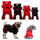 Cute Dog Hoodie Winter Small Dog Pet Puppy Clothes Chihuahua Clothing Red Black