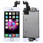 For iPhone 5 5S LCD Display Screen Digitizer Replacement +Home Button+ Camera