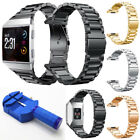 For Fitbit Ionic Stainless Steel Metal Watch Band Bracelet Strap + Regulator image