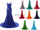 Mermaid New Prom Dresses Bridesmaid Evening Party Cocktail Gowns Stock Size 6-22