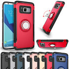 For Samsung Galaxy S8/S8 Plus/S7 Edge Ring Holder Rugged Armor Stand Case Cover