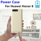 for Huawei Honor 8 Power Case External Battery Backup Charger Metal Bumper Cover