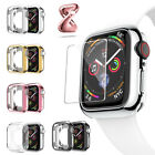 Apple Watch Series 3/2/1 TPU Bumper iWatch Protector Case Cover 38/42mm lot