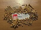 BRASS CHEESE HEAD SCREW SLOTTED/BOLT AND NUT M3 M4 M5 M6