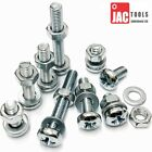 POZI PAN MACHINE SCREWS INC NUTS AND WASHERS BZP ALL SIZES M3 M4 M5 M6 M8 POSI