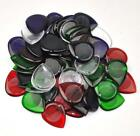 50 pcs New Heavy 3mm Water Drop Guitar Picks Plectrums For Electric Guitar Jazz