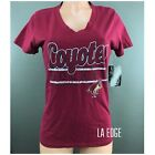 Women's Arizona Coyotes V-Neck Tee Shirt Small Ladies Top NHL Hockey LA Edge NEW $12.99 USD on eBay