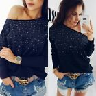 Sexy Womens Long Sleeve Autumn Slim Knitted Sweater Tops Cardigan Outwear Coat