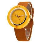Men's W133A Marble Wristwatches with Genuine Leather Strap by Bewell