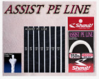 Shout Assist Pe Line 89-AP Tackle for Assist Hook Jigging Fishing 3m Braided