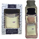Snug & Toastie Novelty Knitted Hot Water Bottle With Lavender Fragranced Pouch