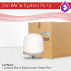 Zen Water System Replacement Filter Pack of 2, 3, 4, 6, & 12 Ceramic Dome