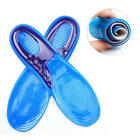 Man Women Orthotic Foot Sole Arch Support Massaging Gel Silicon Sport Insole