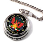 Campbell Loudoun Scottish Clan Pocket Watch