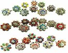 Assorted mixed Ceramic Drawers Knobs Door Cupboard Pulls Knob only ships to USA