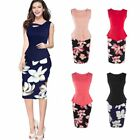 Fashion Slim Women Ladies Bodycon Cocktail Formal Business Pencil Dress