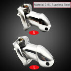 Male 316L stainless steel Luxury Chastity Device Standard/Small Cage A256
