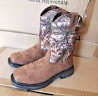 Wolverine Javelina Steel Toe Square Toe Wellington work cowboy camo Boots W10373