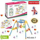 Infant Toddlers Baby Gym Arch Musical Fitness Activity Grab Toys Baby Gym