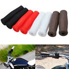"Pair 7/8"" Motorcycle Vintage Coke Bottle Style Handlebar Rubber Hand Grips SU $6.85  on eBay"