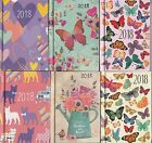 2018 Diary A4/A5/A6/A7 Page A Day/Week to View/Metal Corners or Hard Back Type