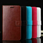 High Quality Vintage Flip Leather Wallet Case For Highscreen Power Ice / Ice Max