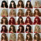 Fashion Women Long Hair Full Wig Natural Curly Wavy Synthetic Hair Wigs - Bstyle